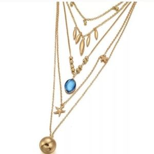 HOST PICK⭐️Chic Gold-plated Multilayer Necklace